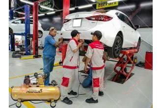 Garage xe phù hợp với dòng máy nén khí như thế nào ?