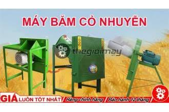 Tổng hợp máy băm cỏ nhuyễn GIÁ RẺ tại TpHCM
