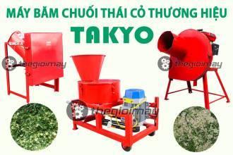 Máy băm cỏ cho bò chính hãng thương hiệu TAKYO